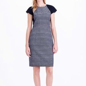 J.Crew Factory Striped Tweed Career Dress Size 0